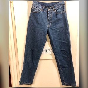 Crop kick jeans